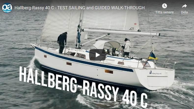 Hallberg-Rassy 40C video