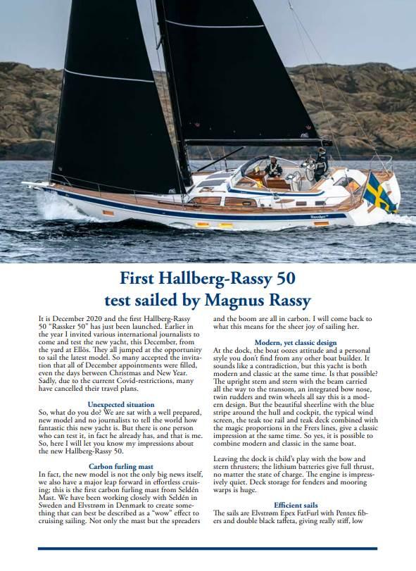 Hallberg-Rassy 50 test