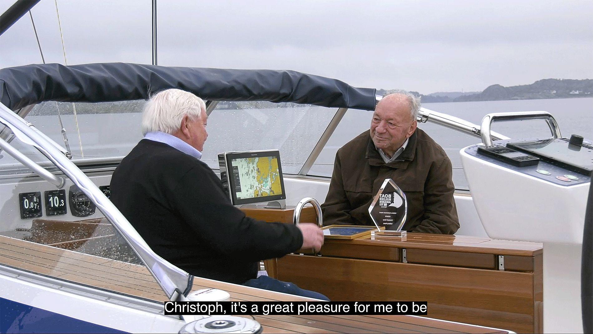 Christoph Rassy receives Lifetime Achievement Award