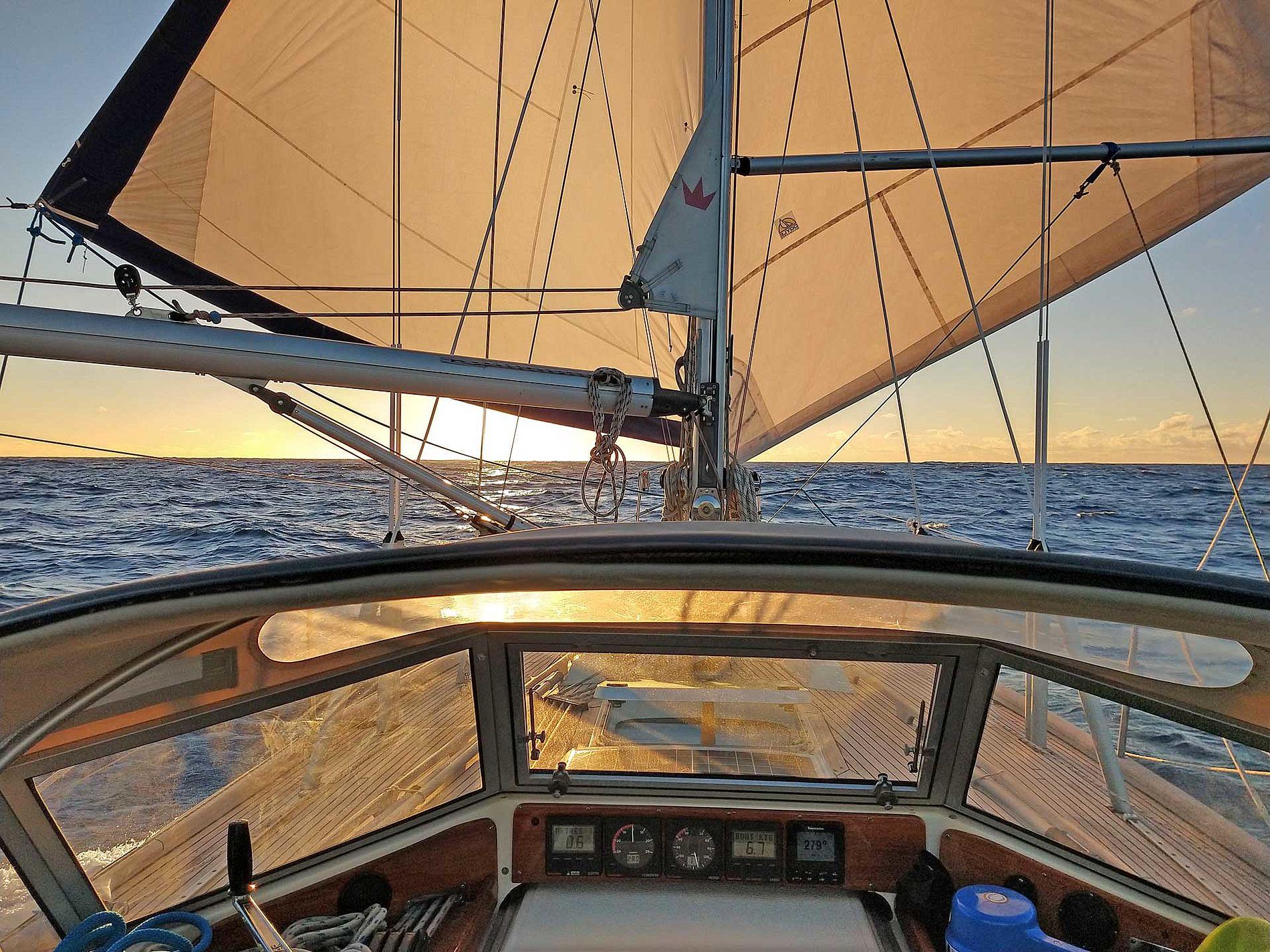New book on long distance sailing in Irish Hallberg-Rassy 352